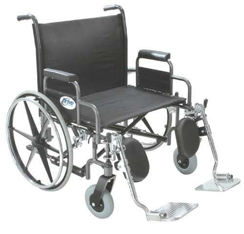 Bariatric Wheelchair Rem Full Arms 26 Wide - World Wide Shipping Rem Full Arms