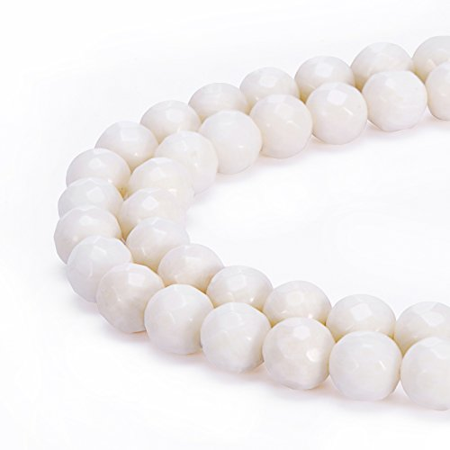 BRCbeads Natural Gemstone Faceted Crystal