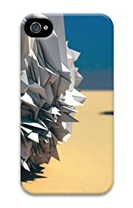 abstract 3d cool PC For Apple Iphone 4/4S Case Cover