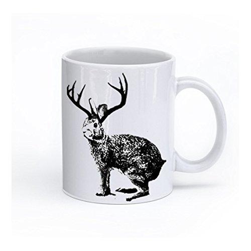 Amazon.com: Jackalope Coffee Mug, Jackalope cup: Handmade