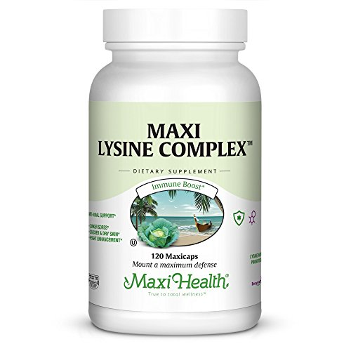 Maxi Lysine Complex Supplement, 120 Count