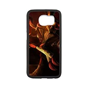 Samsung Galaxy S6 Cell Phone Case White League of Legends Gentleman Cho'Gath KWI8882361KSL