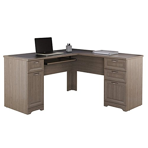 Realspace Magellan L-Shaped Desk, Gray (Realspace Magellan Performance Collection L Desk Espresso)