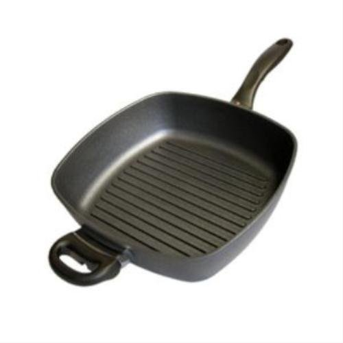 (Swiss Diamond Cast-Aluminum Non Stick Square Grill Pan 11 Inch)