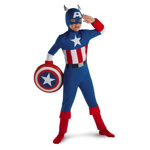 Captain America Classic - Size: Child L(10-12)