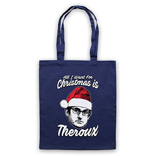 Want Is For Navy Christmas I Bag Theroux Blue Louis Tote Theroux All HtSqww76