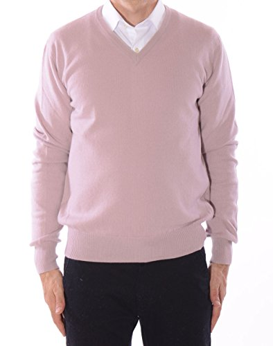 Cachemire Cachemire Pull V Vieux Resource Resource Dw4qnw Col 20 Homme 80 Rose Merinos aTqFR