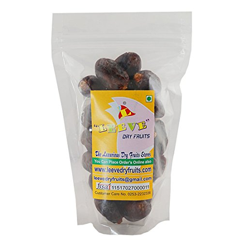 Leeve Dry Fruits Wet Dates Qatar Dates, 400 Gms by Leeve Dry Fruits