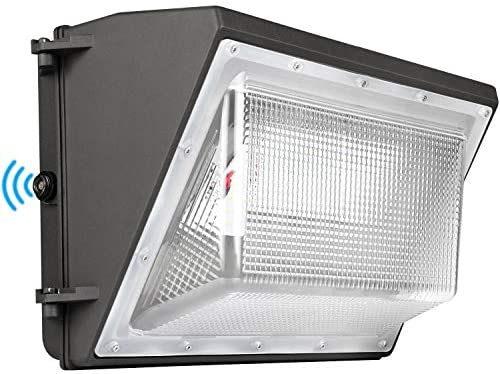 LED Wall Pack Light 120W 5000K with Dusk-to-Dawn photocell 16200lm Wall Pack Light Commercial 600W HPS HID Equivalent