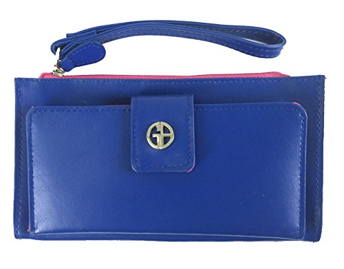 giani-bernini-womens-recycled-leather-wristlet-blue