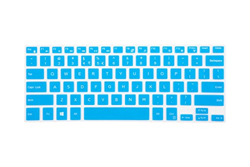 Leze - Ultra Thin Keyboard Cover Skin for Dell Ins...