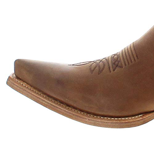 Beige 2073 023 unisex Olimpia western Boots adulto Stivali Sendra 5wqY686