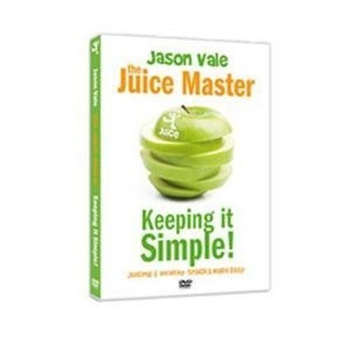 Jason Vale Keeping it Simple: Juicing And Healthy Snacks Made Simple [DVD] (Dvd Juicing)