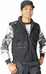Rothco Ranger Vest, Black, XX-Large