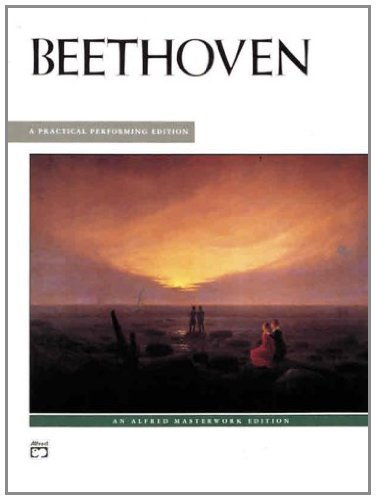Beethoven 13 Most Popular Piano Pieces, Practical Performing Edition: Alfred Masterwork Edition