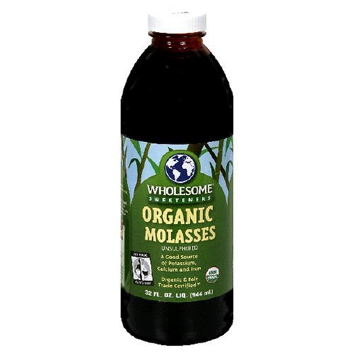 Wholesome Sweeteners Organic Molasses, 32 fl oz (Pack of 3)