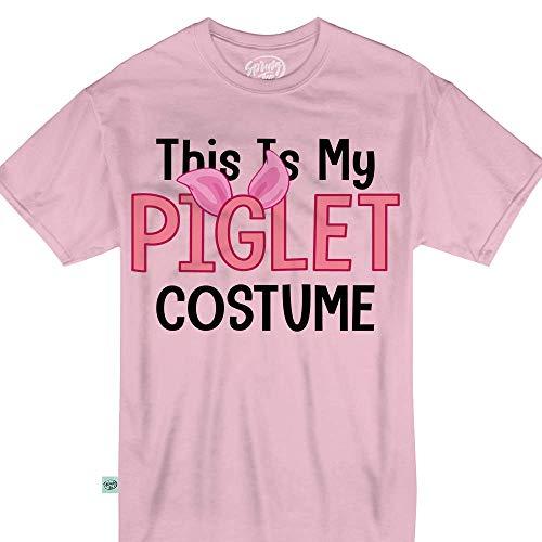 Springtee This is My Piglet Costume Halloween Pig Lovers Kids T-Shirt ()