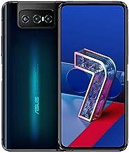 """Zenfone 7 Preto Asus, com Tela de 6,67"""",5G, 128GB e Câmera Tripla de 64MP + 12MP + 8MP - ZS"""
