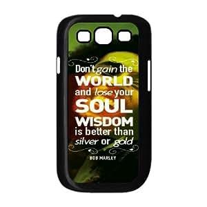 YUAHS(TM) Custom Phone Case for Samsung Galaxy S3 I9300 with Bob Marley YAS137016