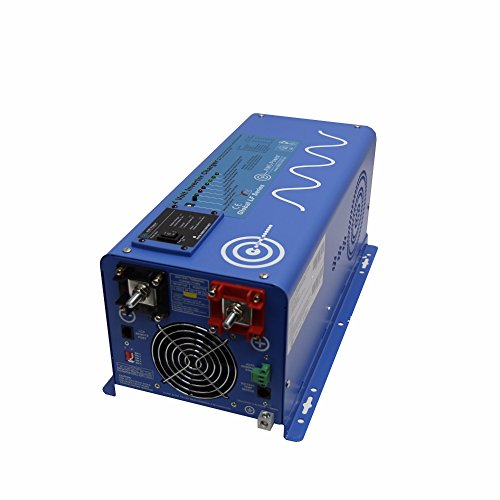 Aims Power 3000 Watt 24V Pure Sine Inverter Charger w/9000W Surge