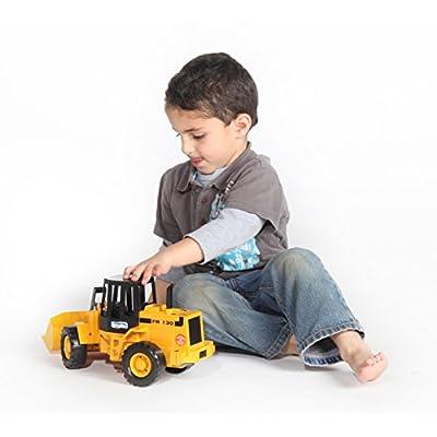 Bruder 02425 Fiat Articulate Road Loader: Toys & Games