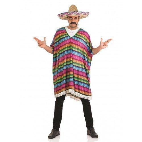 Hombre Mexicano Rayas Poncho LEJANO OESTE WEST Despedida Soltero ...