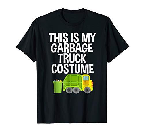 This Is My Garbage Truck Costume Halloween Pajama T-Shirt ()