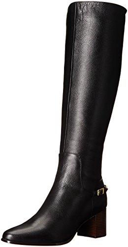 Calvin Klein Women's Fabrice Harness Boot, Black, 8.5 M US by Calvin Klein