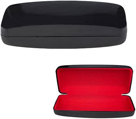 Large Glasses Case, Hard Shell For Over-sized Sunglasses and Eyeglasses, Durable Smooth & Glossy Finish With Protective Lining, By OptiPlix.