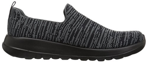 on Gowalk Herren Skechers Unendliche Max Slip Black Trainer Grey ZXSqxPOnx