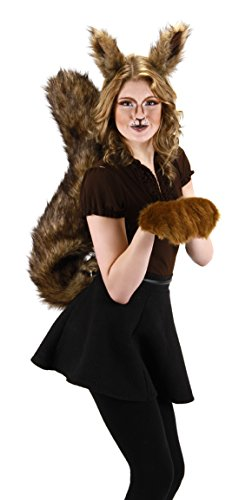 Elope Large Squirrel Costume Tail for Adults and Kids ()