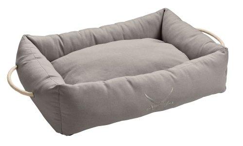 Grey M Grey M HUNTER Dog Sofa Sansibar Rantum 80x60 cm grey