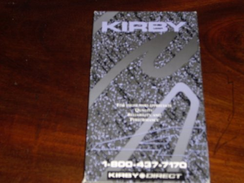 Kirby G4 Home Care System Instructional Video (VHS Videocassette) Includes TechDrive Power Assist, Upright or Straight Suction, Surface Nozzle, Duster Brush, Upholstery Nozzzle, Optional Accessories (Carpet Shampoo, Floor Polisher, Zippbrush +)