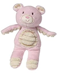 Mary Meyer Thready Teddy Plush Rattle, Pink BOBEBE Online Baby Store From New York to Miami and Los Angeles