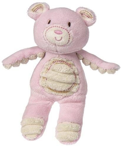 (Mary Meyer Thready Teddy Plush Rattle, Pink)