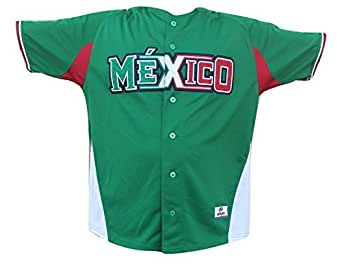 Amazon.com: Mexico Serie del Caribe Baseball Authentic Jersey New by