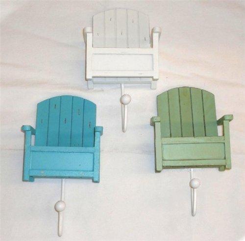 Beachcombers SS-BCS-02543 Beach Chair Hooks (Set of 3)
