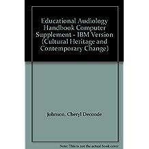 Educational Audiology Handbook: Computer Disk Supplement (PC Version)