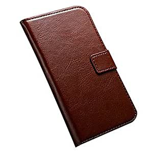 CeeMart Stand Design Luxury Wallet Leather Case with Card Holder for Samsung Galaxy S4 I9500 Red