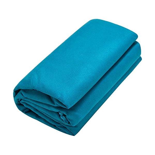 Cressi Fast Drying, Asciugamano/Telo Sportivo in Microfibra, Vari Colori e Misure Unisex Adulto 5 spesavip