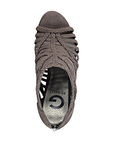 Guess Jelus - Sandalias de vestir de Material Sintético para mujer gris gris oscuro gris oscuro