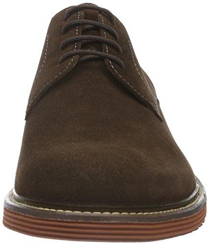 Sioux Birgo, Zapatos de Cordones Derby para Hombre Marrón (Testa-di-m./Sigaro)