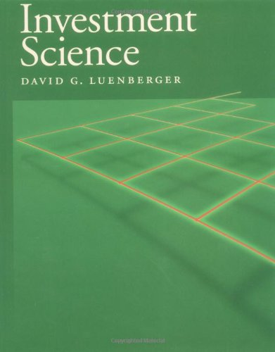 Investment science luenberger d&g time cad to jpy