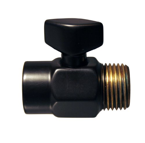 Westbrass D309-12 1/2-Inch Shower Arm Volume Control Trickle Valve, Oil Rubbed Bronze