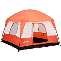 SEMOO Waterproof 4-5 Person 2 Doors 3 Season Family Cabin...