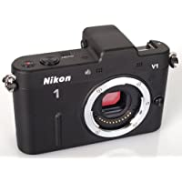 Nikon 1 V1 10.1 MP HD Digital Camera System Body Only (Black)