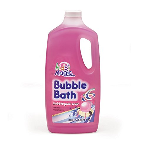 Kids Magic Bubble Bath, Bubblegum Pop, 33 Fluid Ounce (Pack of 3) by Kids Magic