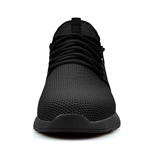 Sneakers Ultra Shoes Women Breathable Comfortable QANSI Walking Black Mesh Running Hiking Tennis Ev5BwxqA