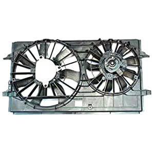 TYC 621150 Chevrolet Replacement Radiator/Condenser Cooling Fan Assembly