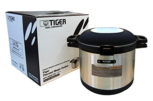 Tiger NFI-A800 Vacuum Insulated Non-Electric Thermal Cooker, Double Wall, 271 Oz/8 L by Tiger Corporation
